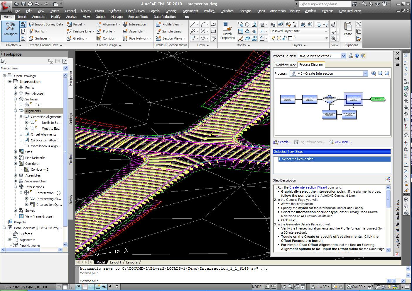 Civil 3D: Fierce Solutions: Web/Tech